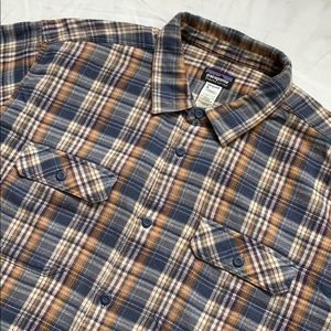 Patagonia Flannel Plaid Button Down Shirt XXL